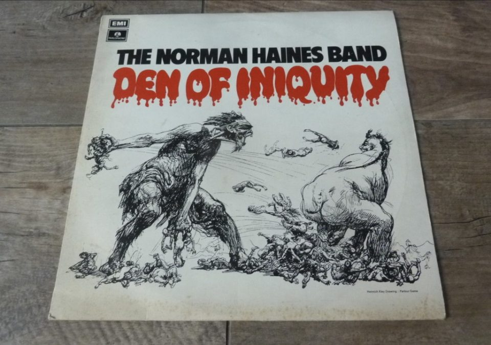 Norman Haines Band - Den Of Iniquity 1971 UK LP PARLOPHONE