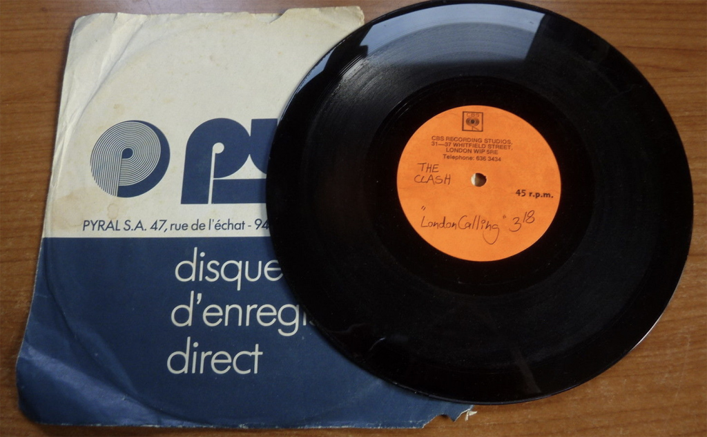 "The Clash - London Calling 1979 UK 8"" ACETATE PUNK/KBD"