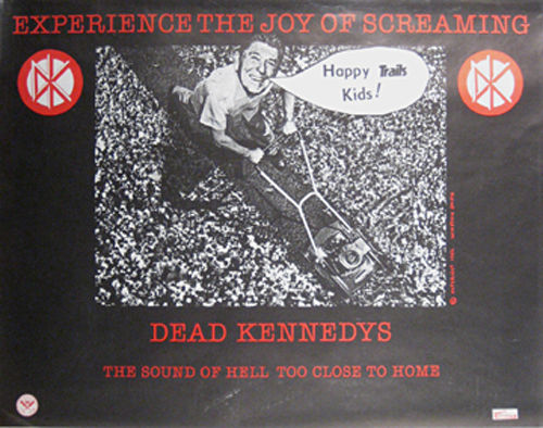 Dead Kennedys promo poster from 1982